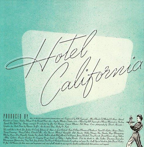 Eagles - Hotel California (1976) Asylum