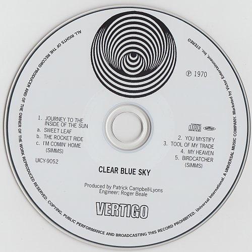 Clear Blue Sky - Clear Blue Sky (1970)