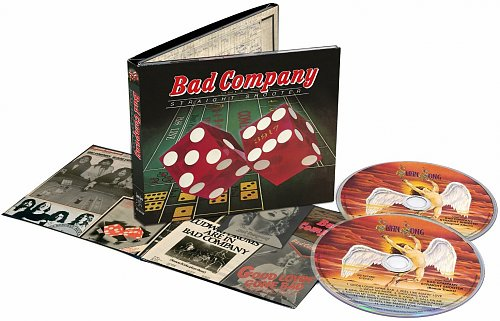 Bad Company - Straight Shooter (2CD Set Deluxe Edition Rhino Records 2015)(1975)