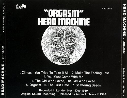 Head Machine - Orgasm (1970/1996)