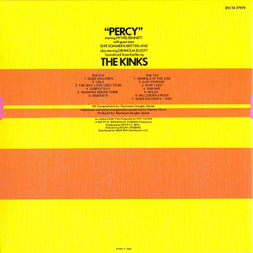 Kinks, The - Percy  (1971)