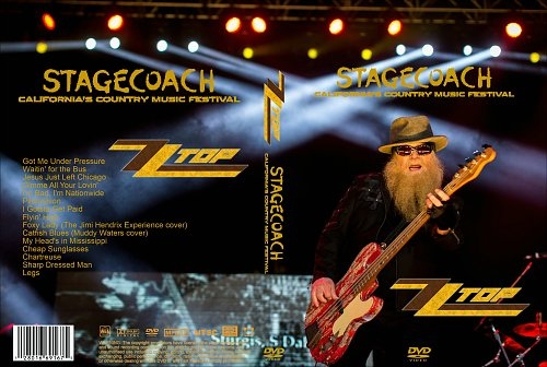 ZZ Top • Stagecoach • California's Country Music Festival(2015)