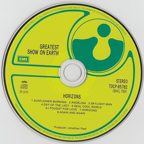 Greatest Show On Earth - Horizons (1970)