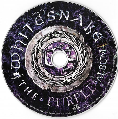 Whitesnake - The Purple Album [Deluxe Edition CD+DVD] 2015