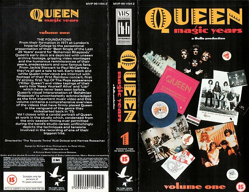 Queen - Magic Years (1987)