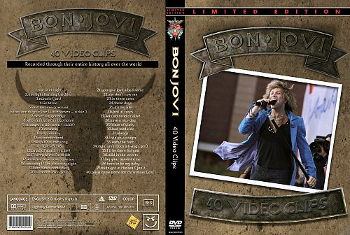 Bon Jovi - 40 Videoclips (2009)