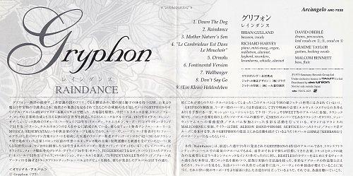Gryphon - Raindance (1975)