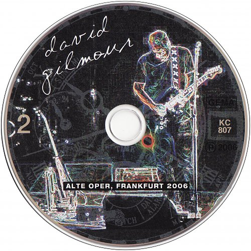 David Gilmour - Alte Oper, Frankfurt, Germany 18.03.2006 (2006 Crystal Cat Records, EEC) 2CD