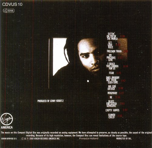 Lenny Kravitz - Let Love Rule(1989)