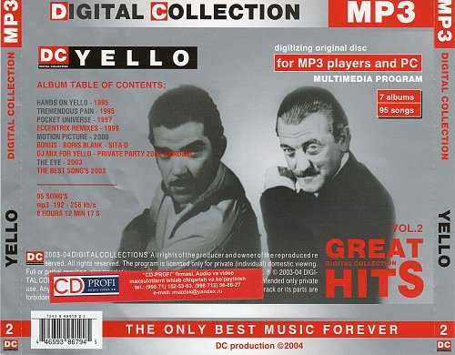 Yello - Digital Collection (2004)