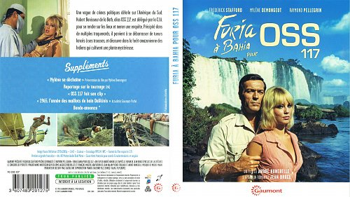 Ярость в Байя для агента OSS 117 / Furia à Bahia pour OSS 117 (1965)