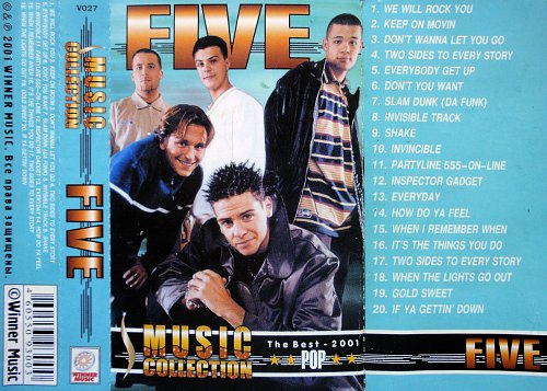 Five - Music Collection (2001)