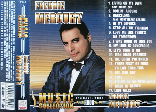 Freddie Mercury - Music Collection (2001)