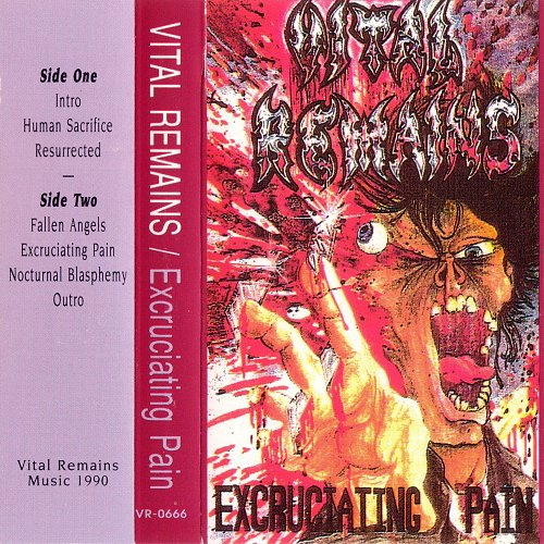Vital Remains - Excruciating Pain (1990 Atonal Studios, Rhode Island, USA/Canada)