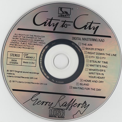 Gerry Rafferty - City To City (1977)