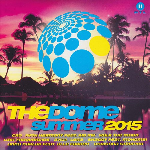 Dome - Summer 2015 (2015 RTL II, Sony Music Entertainment Germany GmbH, EU) 2CD