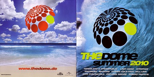 Dome - Summer 2010 (2010 Polystar, RTL II, Universal Music Strategic Marketing, EU) 2CD
