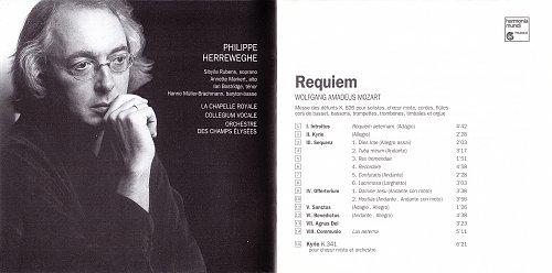Wolfgang Amadeus Mozart - Requiem in D minor, K.626, Kyrie, K.341 (1996)