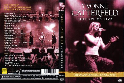 Yvonne Catterfeld - Unterwegs Live (2006)
