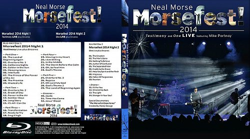 Neal Morse - Morsefest 2014!: Testimony & One fet. Mike Portnoy Live (2014)