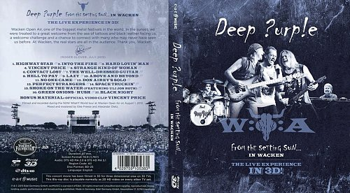 Deep Purple - From The Setting Sun... In Wacken (2015)