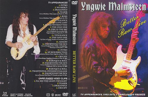 Yngwie Malmsteen - Better Raw Live