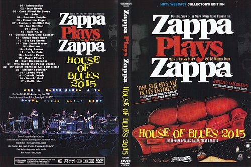 Zappa Plays Zappa - House Of Blues 2015