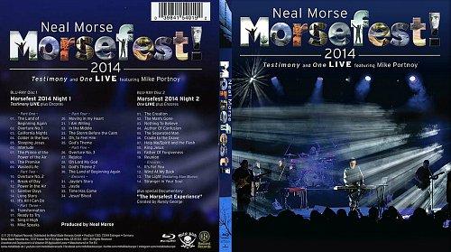 Neal Morse - Morsefest 2014! - Testimony & One fet. Mike Portnoy Live (2015) 2BD, Blu-ray
