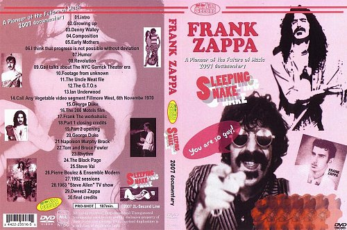 Frank Zappa -  Sleeping Nake