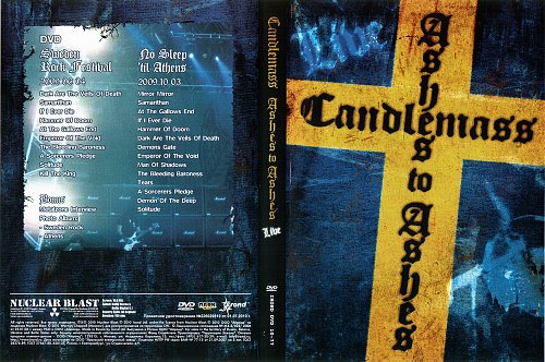 Candlemass - Ashes To Ashes Live 2009
