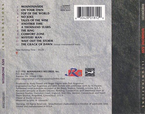 Wishbone Ash - Illuminations (1996)
