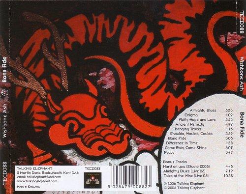 Wishbone Ash - Bona Fide (2002)