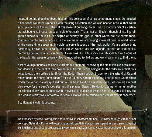 Wishbone Ash - Elegant Stealth (2011)