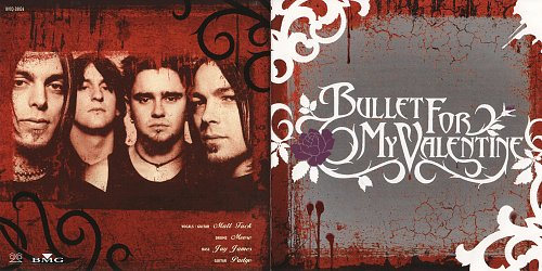 Bullet for My Valentine - Bullet For My Valentine (2004 20-20 LLC, BMG Funhouse Inc., Tokyo, Japan)