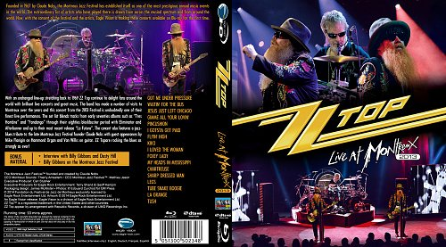 ZZ Top - Live at Montreux (2013)
