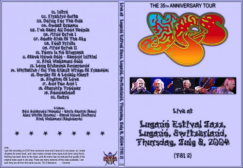 Yes - Lugano Switzerland 2004