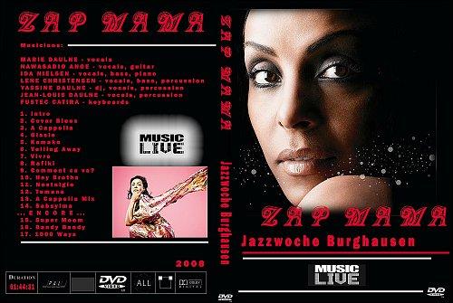 Zap Mama - Jazzwoche Burghausen 2008