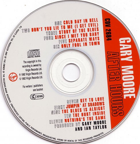 Gary Moore-After Hours (1992)