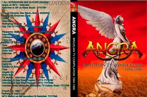 ANGRA - BRAZILIAN TV COMPILATION 1994-1996 & TV COMPILATION PARTE 2 1996