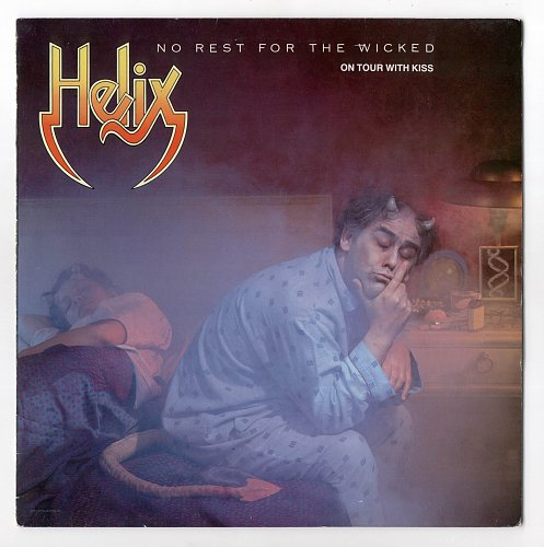 Helix - No Rest For The Wicked(1983)