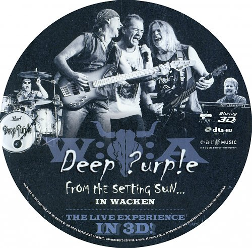 Deep Purple ★ From the Setting Sun... (in Wacken) [2015] 3D