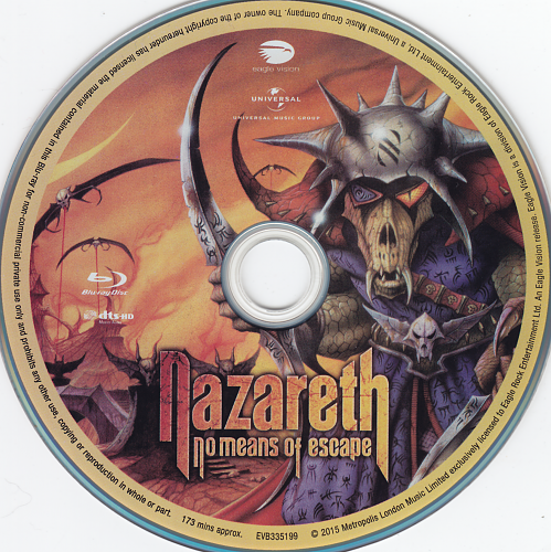 NAZARETH - No Mean To Escape  2015