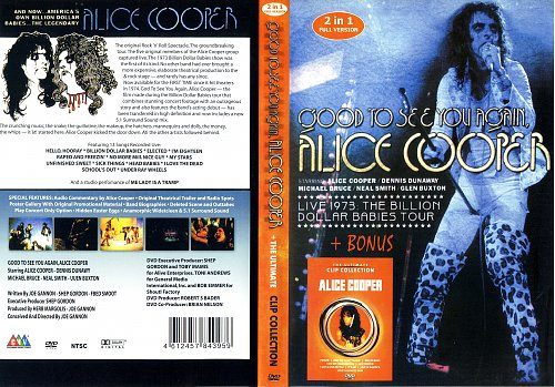 Alice Cooper 2в1 (Good to see you again/The ultimate clip collection)