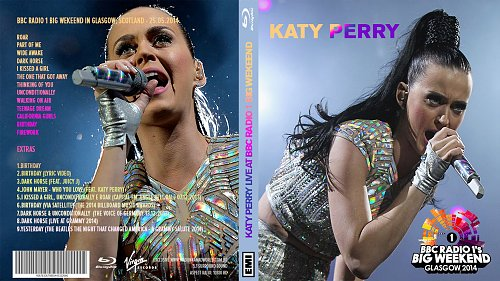 katy perry big weekend 2014 prism blu-ray cover