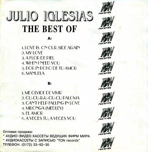Julio Iglesias - The Best Of
