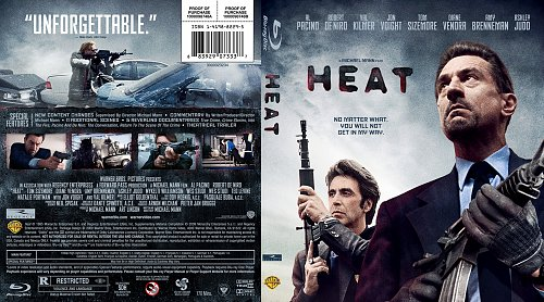 """Heat"" - Custom Blu-ray Cover"