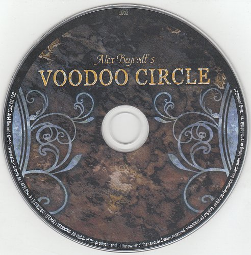 Alex Beyrodt's Voodoo Circle - Voodoo Circle (Limited Edition) [AFM Records, AFM 254-9, Germany] 200