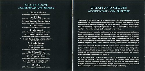 Gillan & Glover - 1988 - Accidentally On Purpose (Remastered 1998)