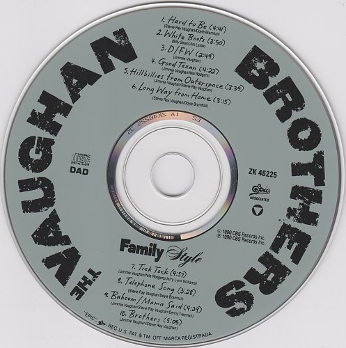 Vaughan Brothers,The - Family Style (1990)