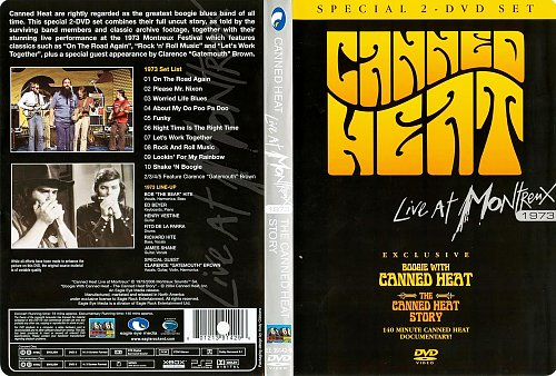 Canned Heat - Live At Montreux 1973 / The Canned Heat Story ((2006)